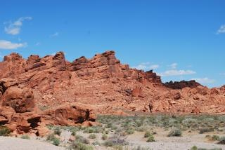 Valley of fire, desert