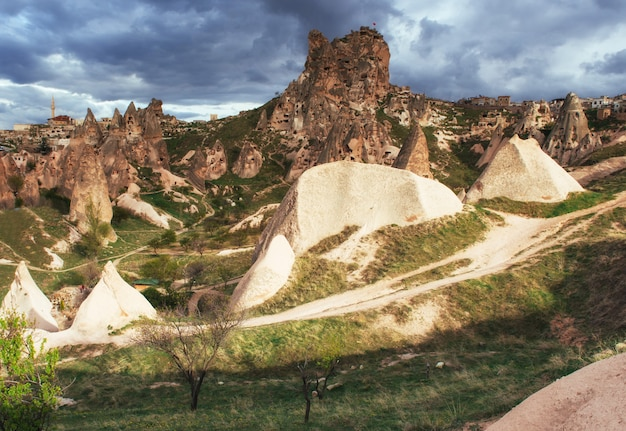 Valley of love in summertime, goreme cappadocia turkey
