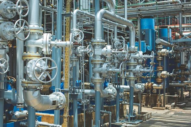 가스 플랜트 압력 안전 밸브 선택 시 파이프라인 오일 및 가스 밸브용 밸브 정유 플랜트 장비.