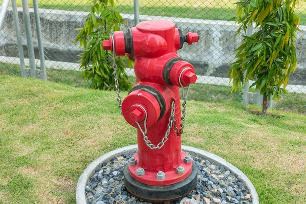 Valves and control system for fire hydrant at factory