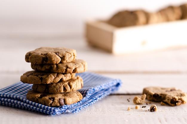 バニラとチョコレートのクッキー