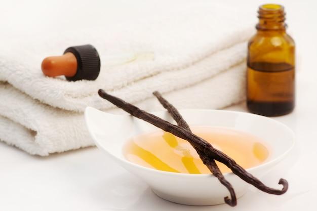 Vanilla spa accessories