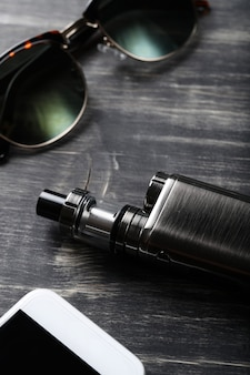 Vaping device e-cigarette