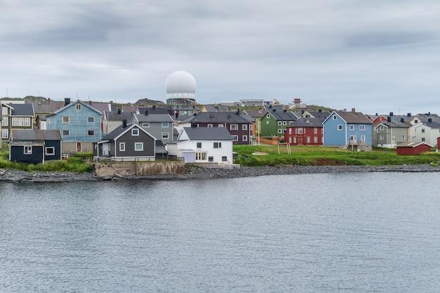 Vardo is a town on the coast of the barents sea, finnmark, norway Premium Photo