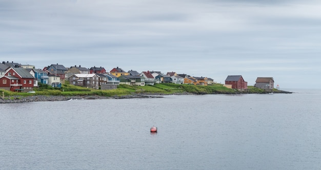 Vardo is a town on the coast of the barents sea, finnmark, norway