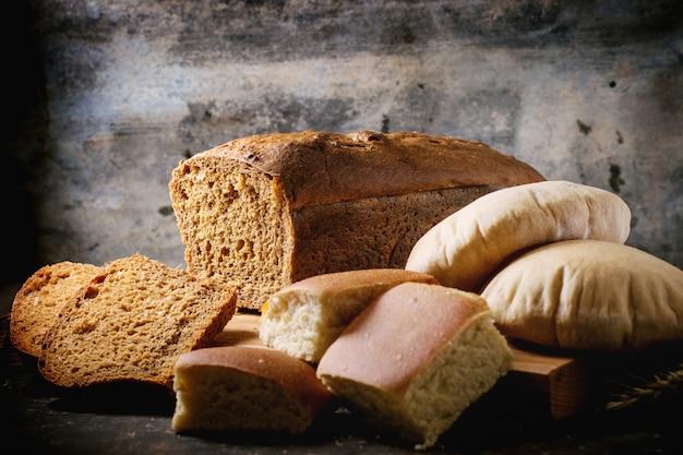 Variation of homemade bread