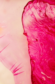 Variety of abstract pink forms