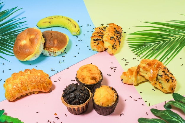 Variety of bread to accompany summer