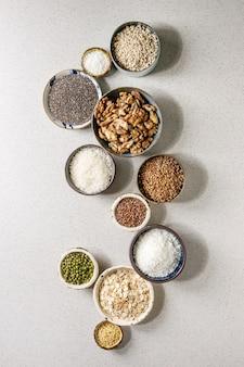 Variety of grains