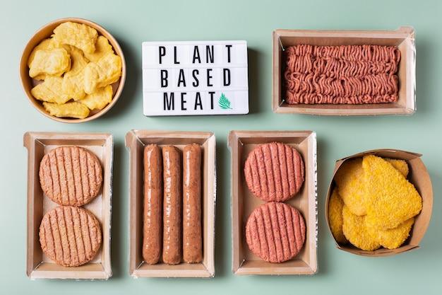 탄소 발자국을 줄이는 다양한 식물성 육류 식품
