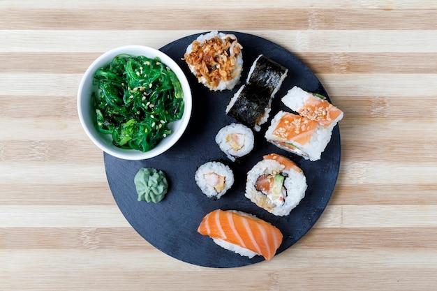 わさびと言うお寿司のバラエティ