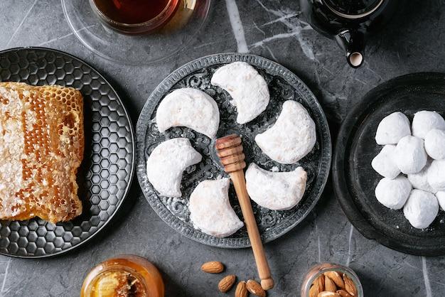 伝統的なギリシャのスイーツクッキー