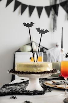 ハロウィーンのお祝いのためのおやつ各種