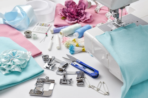 Various accessories for sewing and needlework