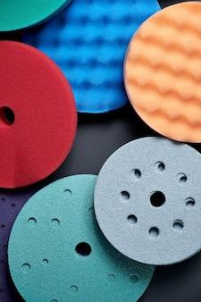 Различные насадки для оснастки инструментов для обработки поверхности полировального станка
