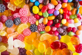 Various candy drops