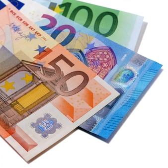 Varie banconote in euro