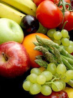 様々な果物や野菜