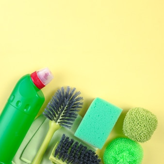 Various house cleaning equipments