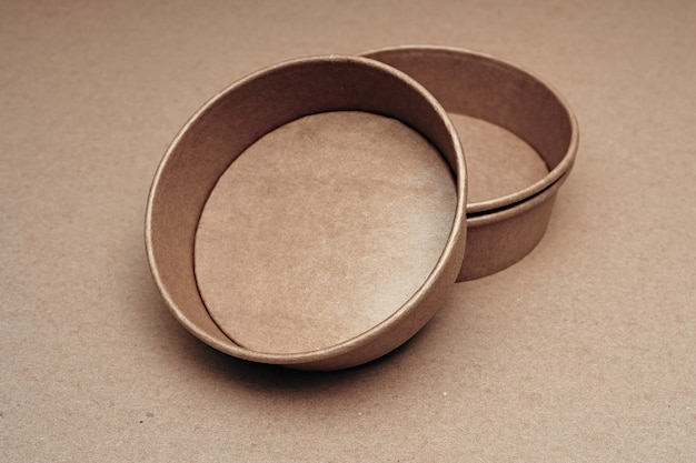 Various paper and wood biodegradable disposable tableware