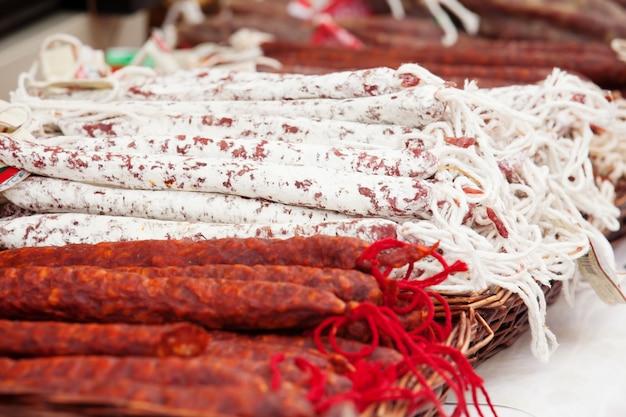 Различные колбасы Бесплатные Фотографии