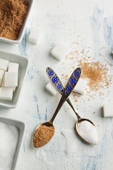 Various of sugar