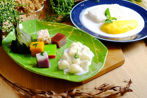 Various type of sticky rice