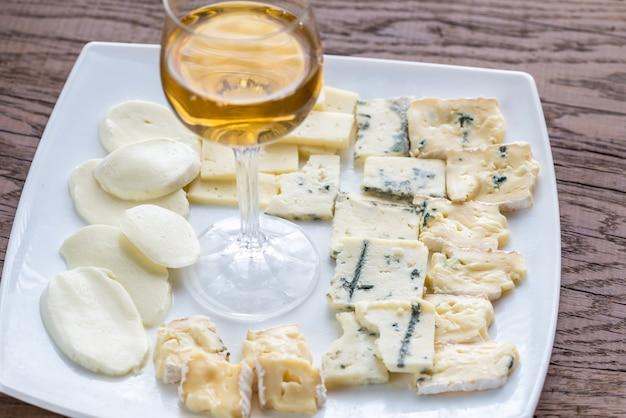 Различные виды сыра