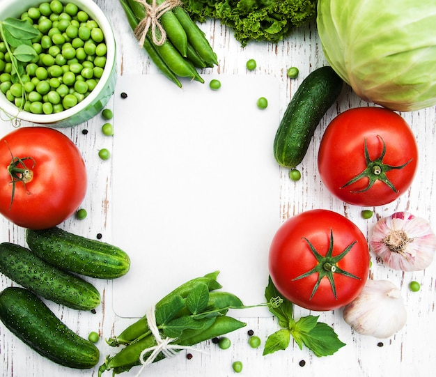Various vegetables