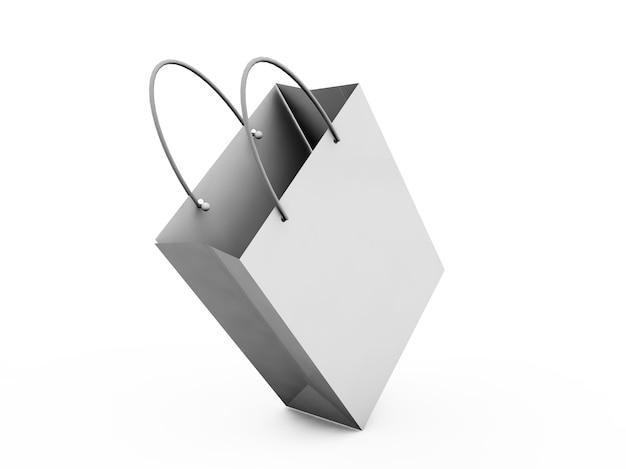 다양한 흰색 상자. 클리핑 패스가 있는 고해상도 3d 그림입니다.