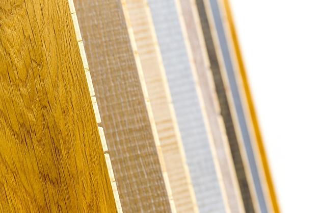 さまざまな木の板
