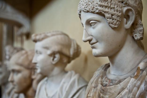바티칸 박물관, 로마, 이탈리아: 동상 수집