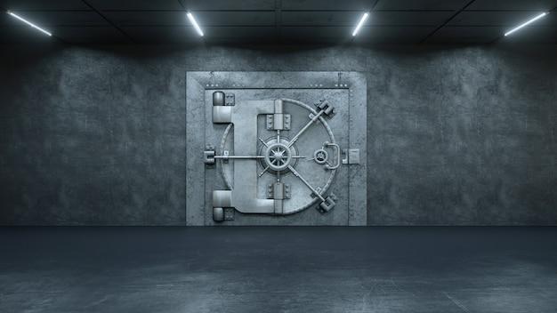 Дверь хранилища в банке