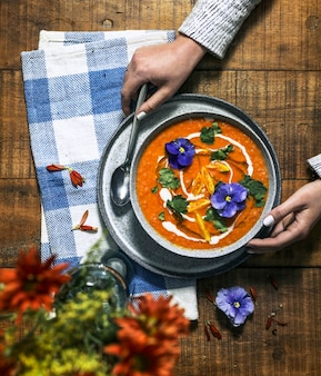 Vean creamy tomato soup