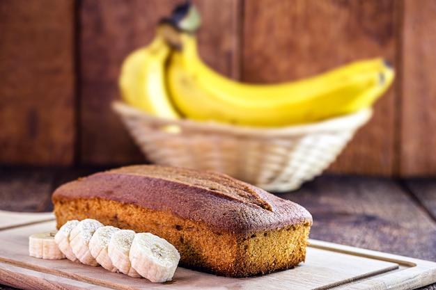 Веганский банановый хлеб, здоровый завтрак без глютена и сахара, вкусная диета