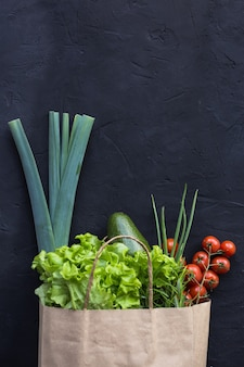 Веганский пакет с овощами