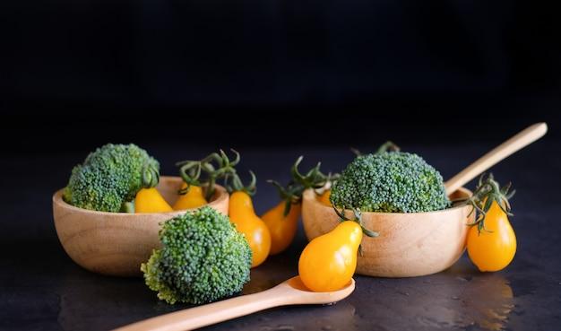 Vegan and vegetarian diet healthy food.