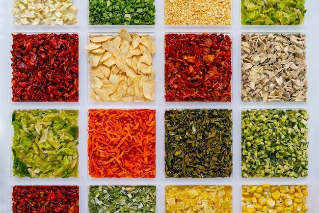 Vegetable spices for cooking. traditions of asia.