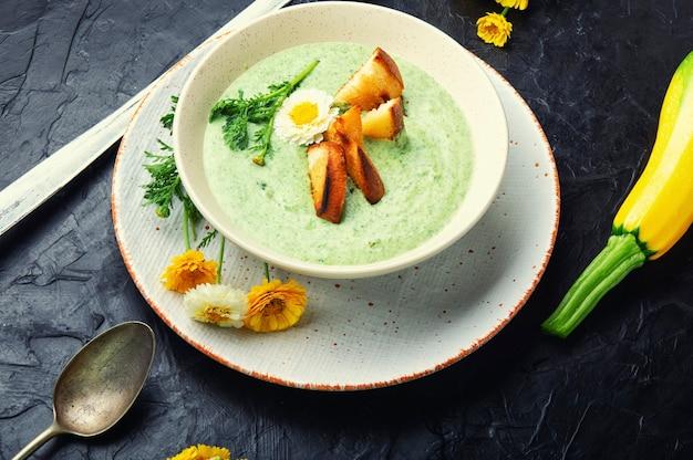 야채 여름 수프, 퓌레 수프