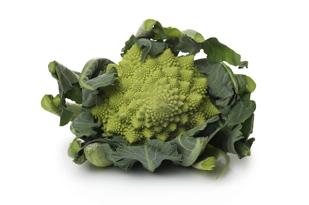 Vegetable on a white surface