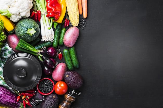 野菜や台所用品
