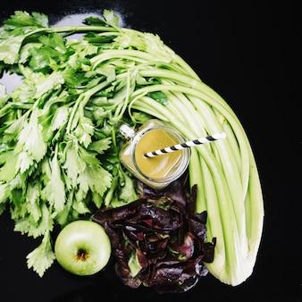 Овощи и овощные коктейли
