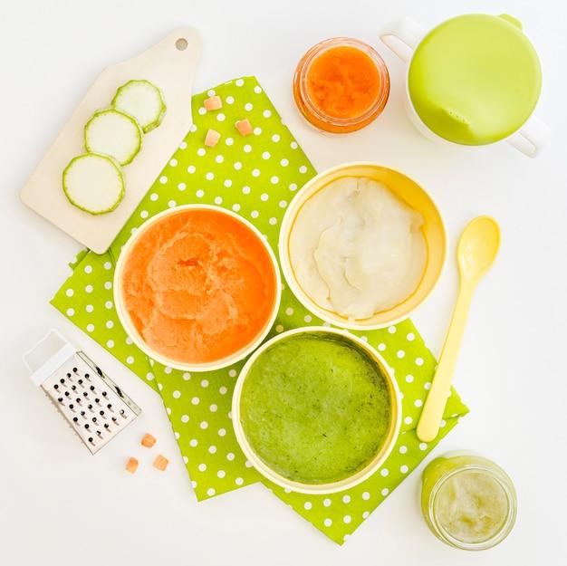 Овощи для детского пюре