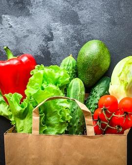 Овощи здоровое питание, сырые натуральные продукты