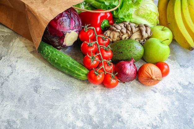 Vegetables healthy eating raw organic fresh fruits