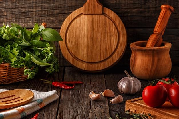 Овощи, зелень, специи
