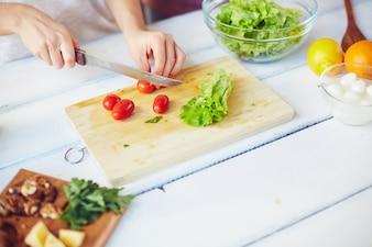Vegetarian closeup feta healthy kitchen