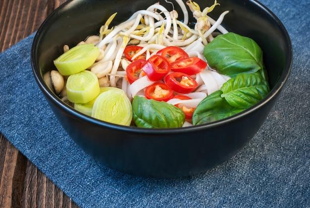ベジタリアンベトナム風スープ