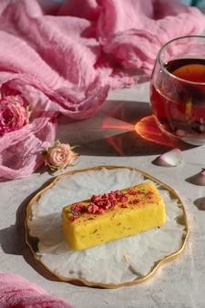 Вегетарианский глазированный сыр десертный глазированный, десерт для детей-веганов