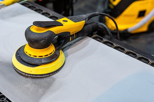 Инструменты для шлифования и полировки кузовов автомобилей